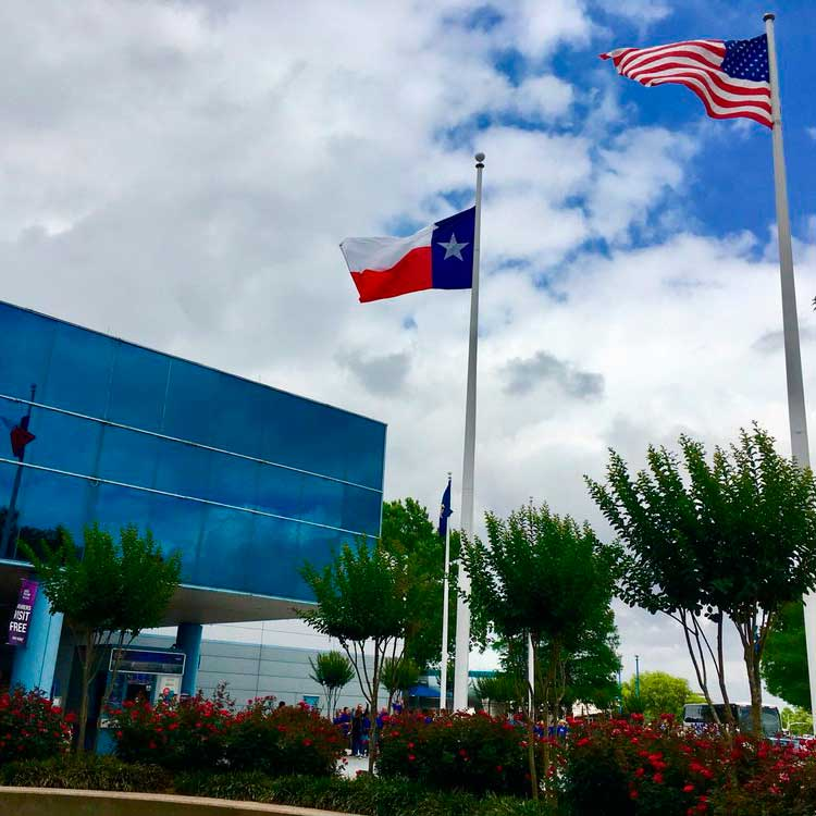 Visit Houston's main attraction! Space Center Houston