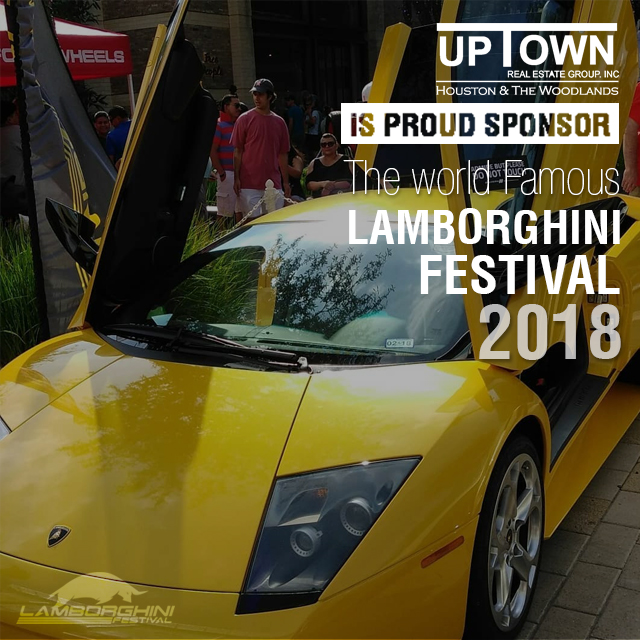 Uptown Real Estate Group proud sponsor of the Lamborghini Festival 2018